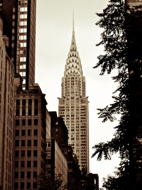 An Art Deco masterpiece, the Chrysler Building