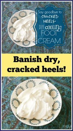Cooling Foot Cream Recipe Foot Cream Homemade Beauty Products