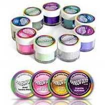 RAINBOW DUST PACK OF 10 MIX & MATCH EDIBLE GLITTER - CAKE & CUPCAKE SUGAR CRAFT!