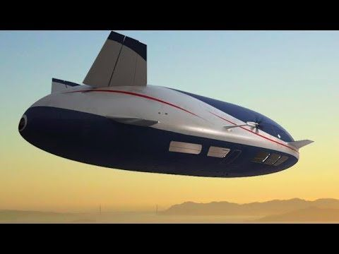 AEROSCRAFT How It Works World's Most Advanced Airship Commercial CARJAM TV 2014 - YouTube