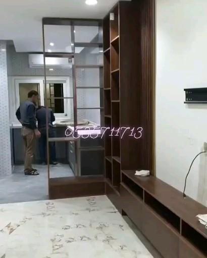 خلفية تلفزيون Video Home Room Divider Room