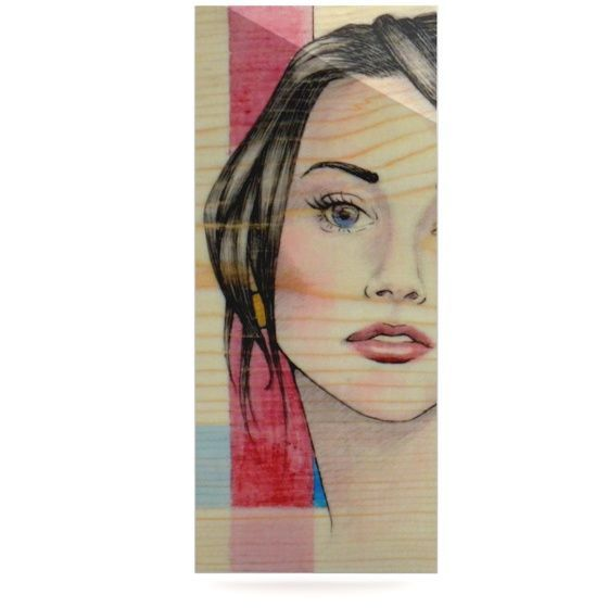 """Brittany Guarino """"Face"""" Luxe Rectangle Panel"""