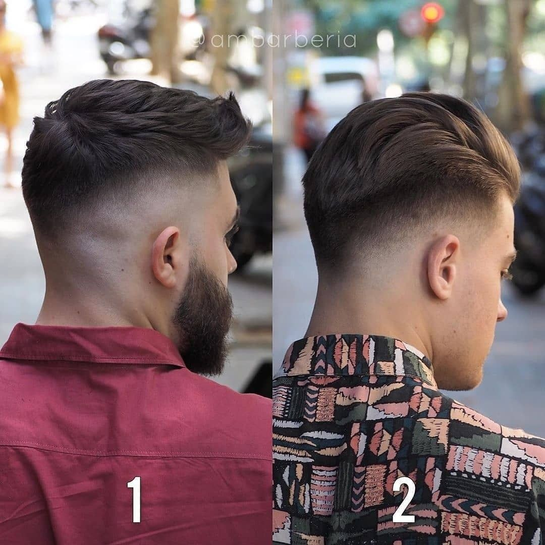 Punk hairstyle for men