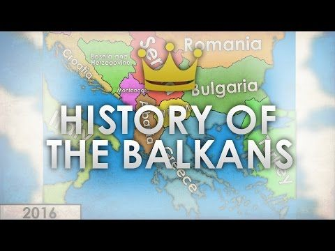 History Of The Balkans Every Year 1000 2016 Youtube Com