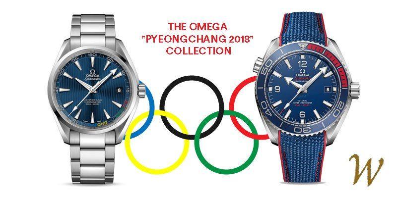 Olympic Games - Omega Pyeongchang 2018 Collection