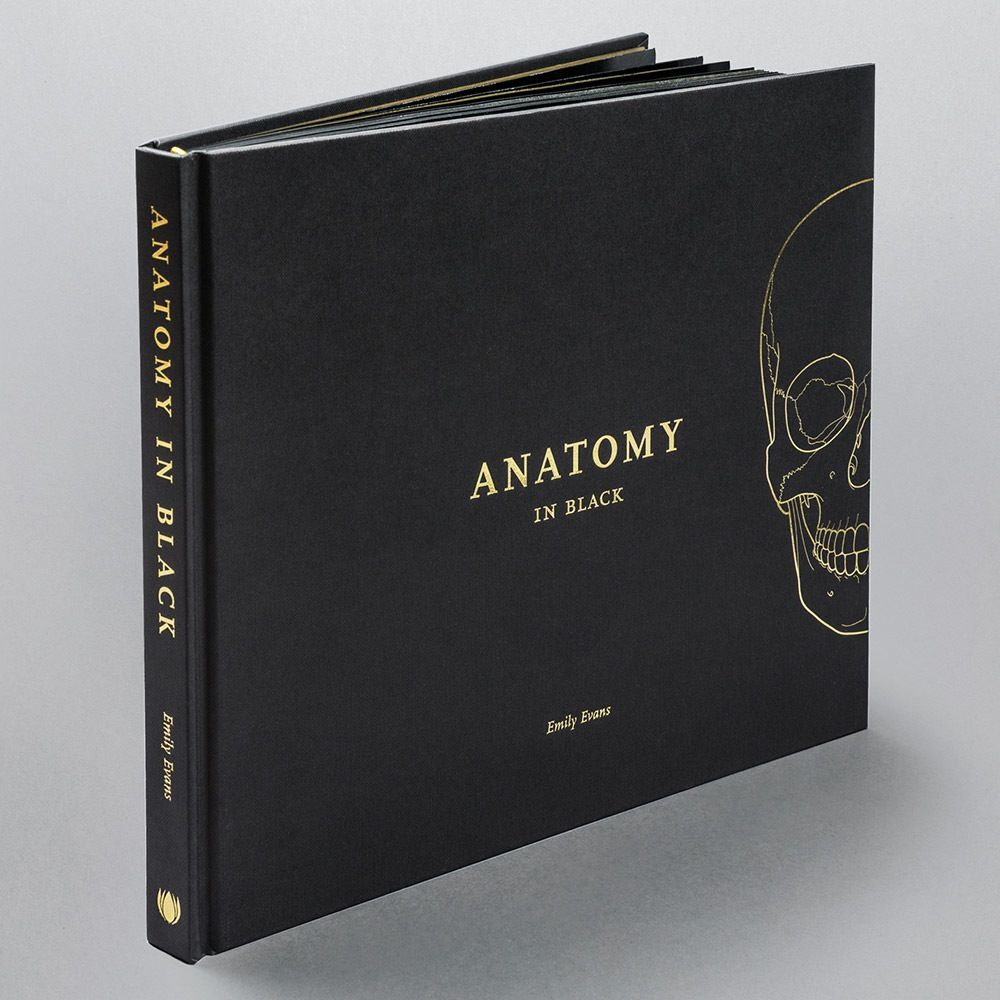 Anatomy in black is a sophisticated coffee table book for for Inspirational coffee table books