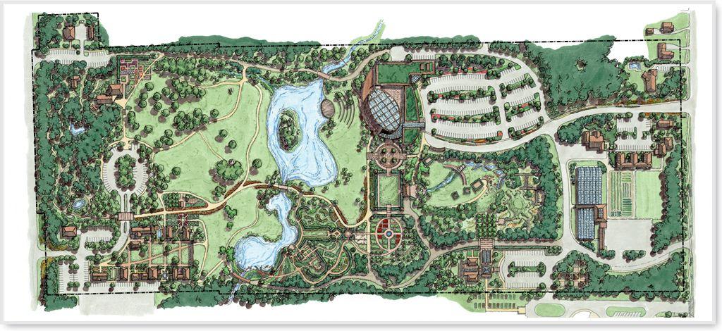 Toledo Botanical Garden Master Plan | Botanical gardens ...
