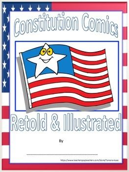Create a Comic /Booklet (CONSTITUTION PREAMBLE) | Booklet template ...