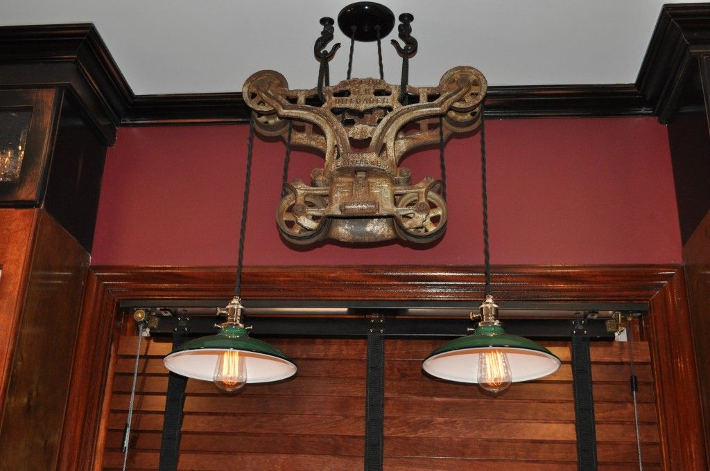 Grainger Lightarvelous Diy Pulley Light Fixture