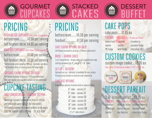 Pin Walmart Bakery Cake Prices precios por pastel Pinterest