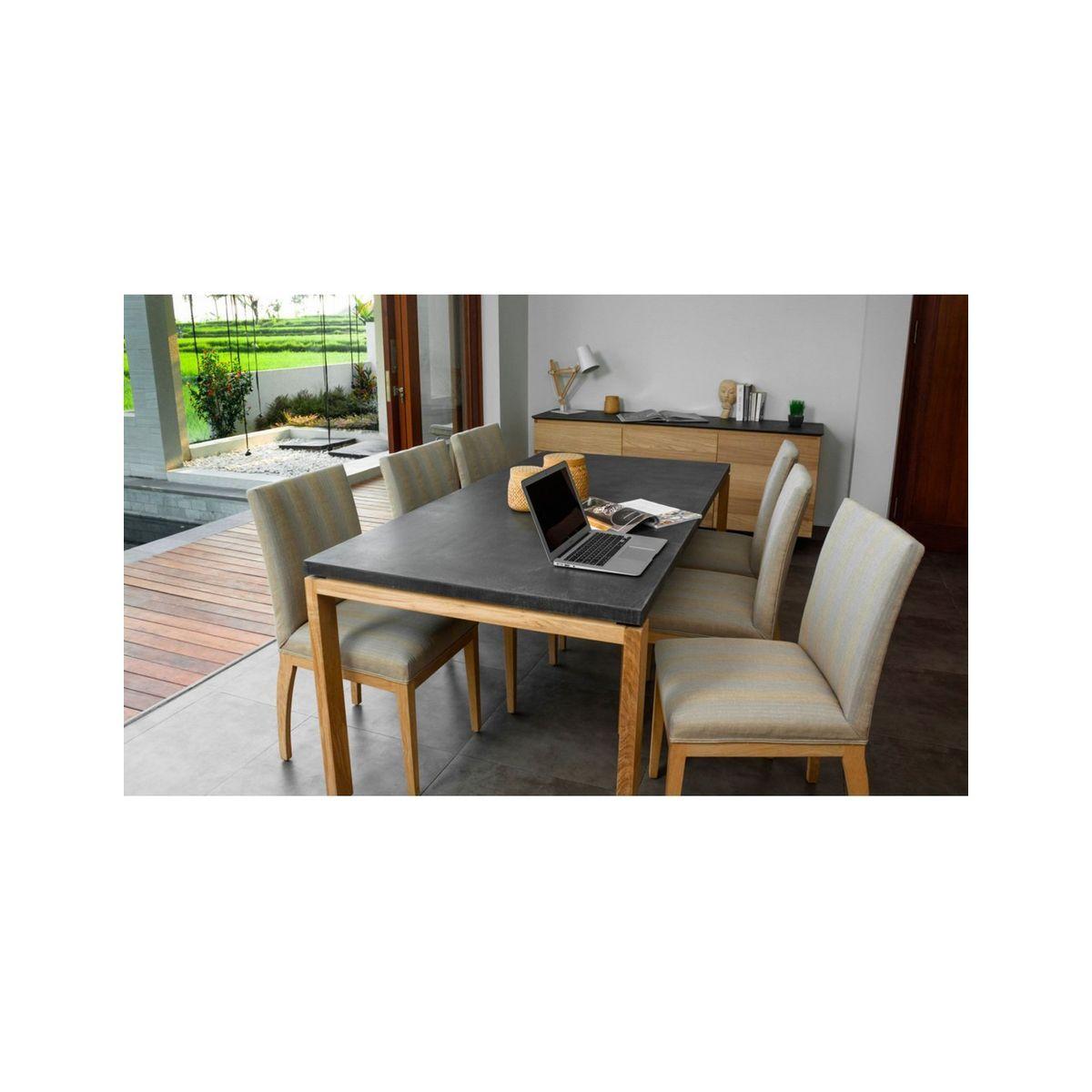 Massif Taille8 Cute Minéral Chêne Table pers Uleg Ju3lK1cTF