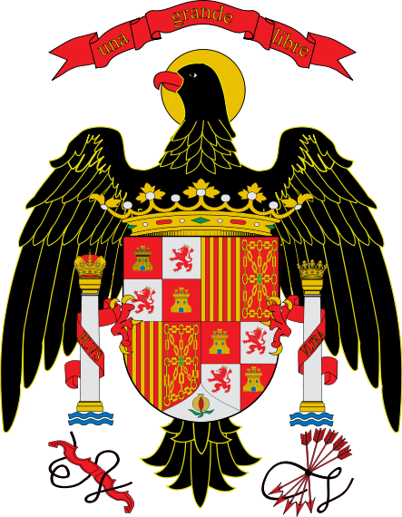 Coa Spain 1977 1981 Escudo Escudo De Armas Banderas