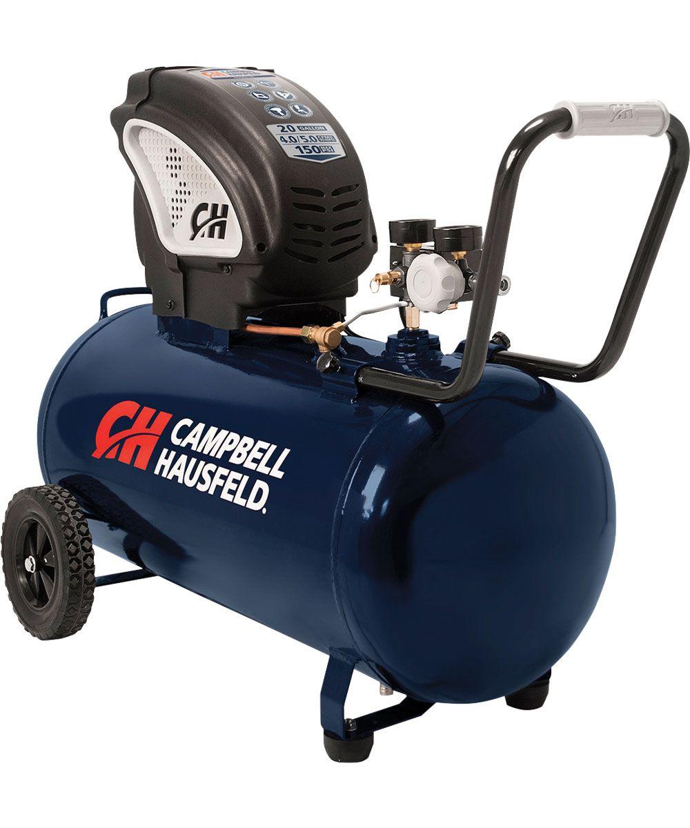 Campbell hausfeld 20 gal 17 hp air compressor electric