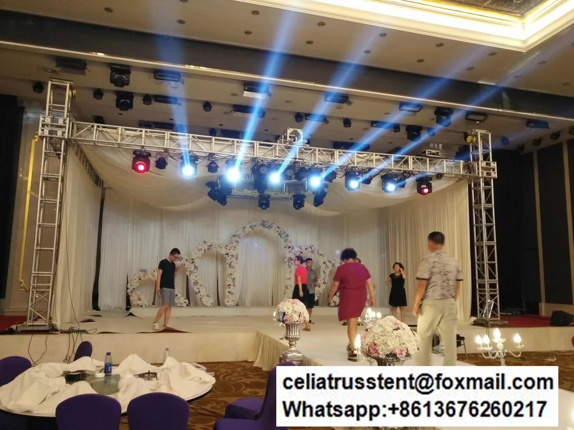 wedding party decoration truss system
