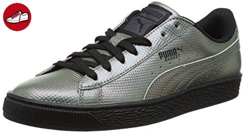 puma unisex sneaker basket classic holographic