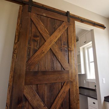 Farm house farmhouse kitchen farmhouse pinterest for Farmhouse sliding door