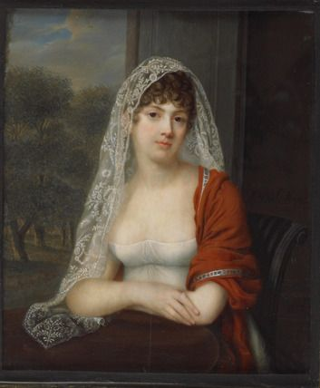 Alexandra Delatour, An Uknown Lady, c.1805