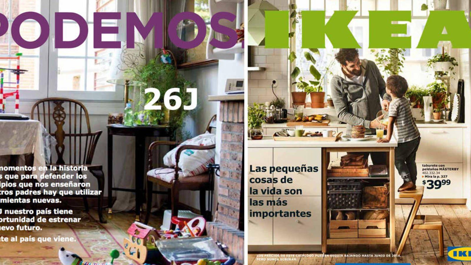 El plan de Bescansa para la Hispanidad: en el IKEA de Alcorcón con sus dos hijos