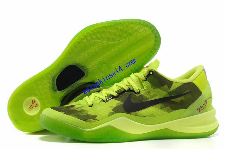 premium selection d6f26 2a0a4 Kobe Shoes 2013 Nike Elite 8 Fluorescent Green Black