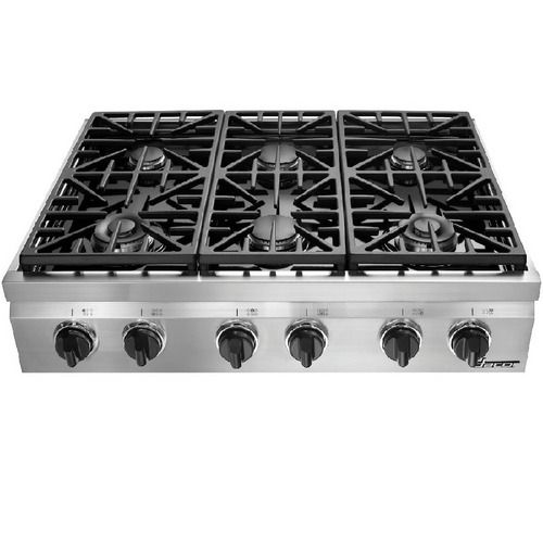 Dacor 36 Inch 6 Burner Gass Cooktop even more tempting