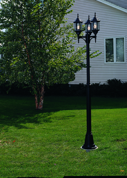 How To Install A Lamp Post In Your Yard Outdoor Lamp Post Lights How To Install Garden Lighting Lamp Post Lights