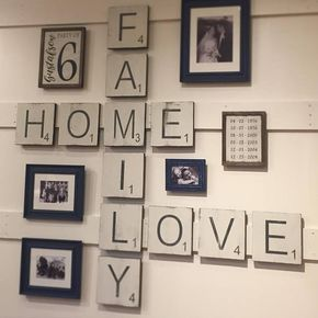 Scrabble Tile Wall Decor Large Letter Tiles For The Wall Home Decor Gallery Wall