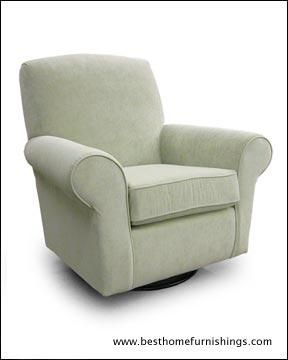 Best Chairs Inc Mandy Swivel Glider Simon S Baby Furniture With Images Glider Rocker Cool Chairs Swivel Glider