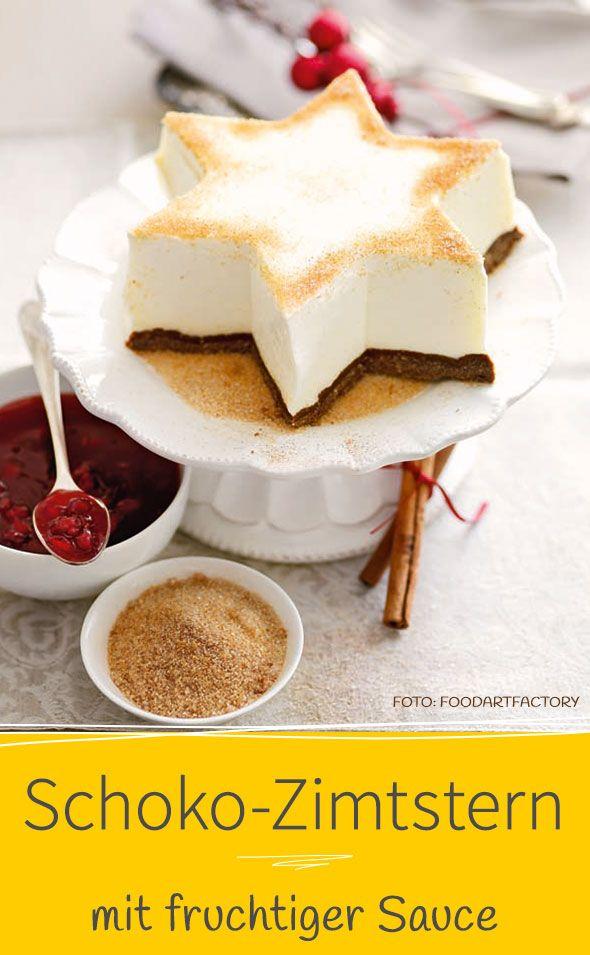 Schoko Zimtstern Rezept Dessert Ideen Lebensmittel Essen Und Kostliche Desserts