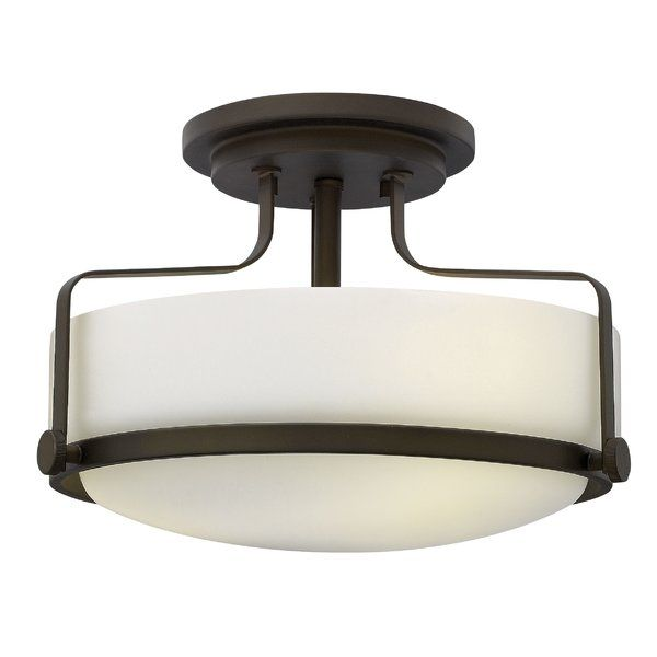 Heliotrope 3 Light Foyer Flush Mount