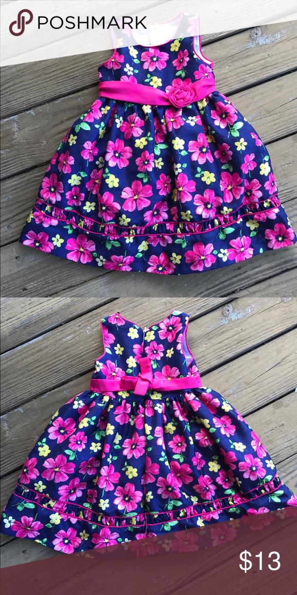 Floral Toddler Girl Dress Girls Dresses Dress Formal And Pink Purple