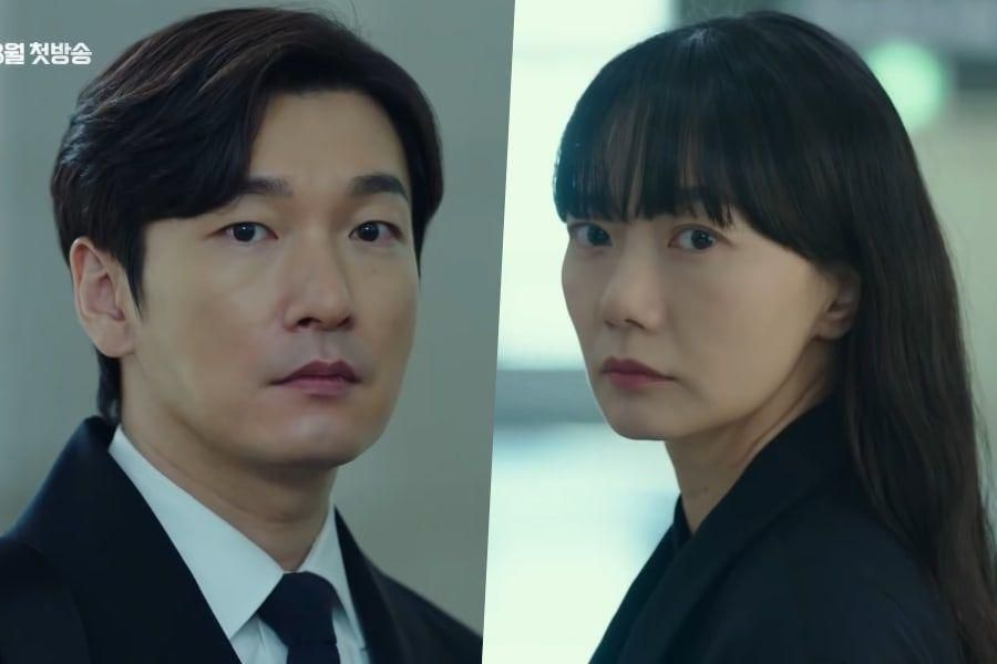 "Watch: Cho Seung Woo, Bae Doona, And More Face Off In New Teasers For Season 2 Of ""Forest Of Secrets"""