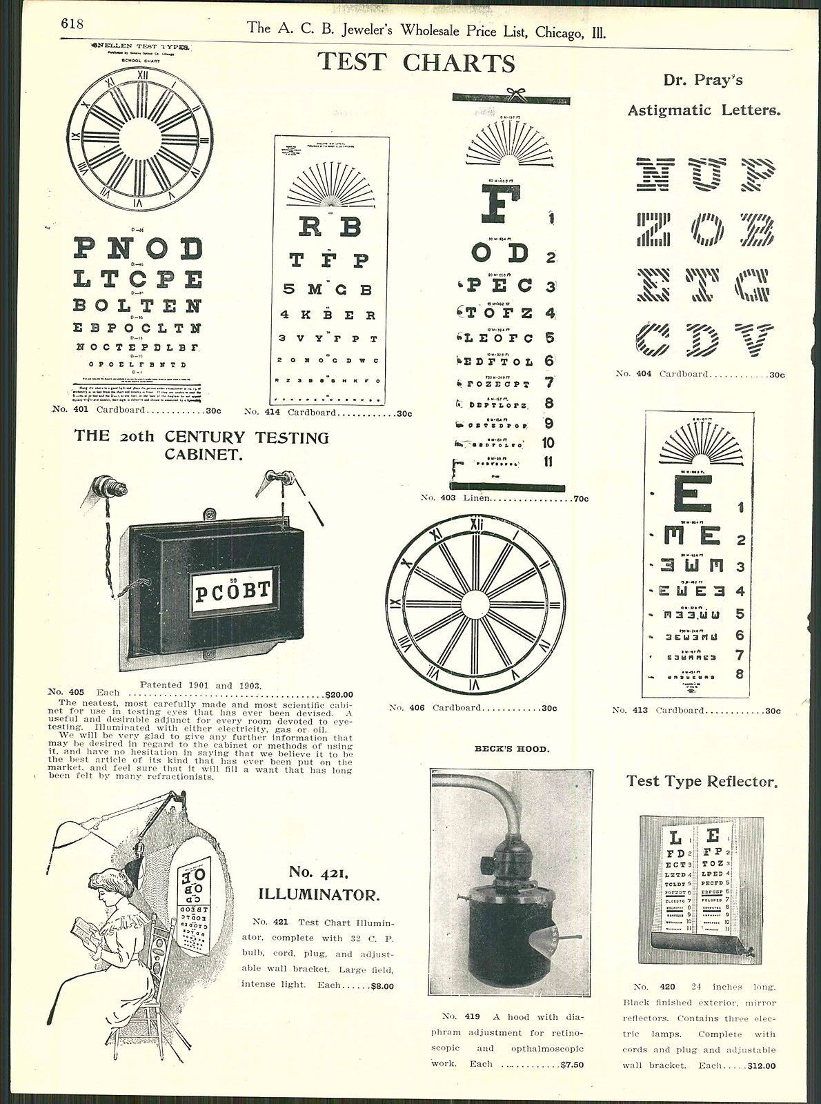 Vintage 1912 Eye Charts Print Ad Printables And Art By Sally Mount