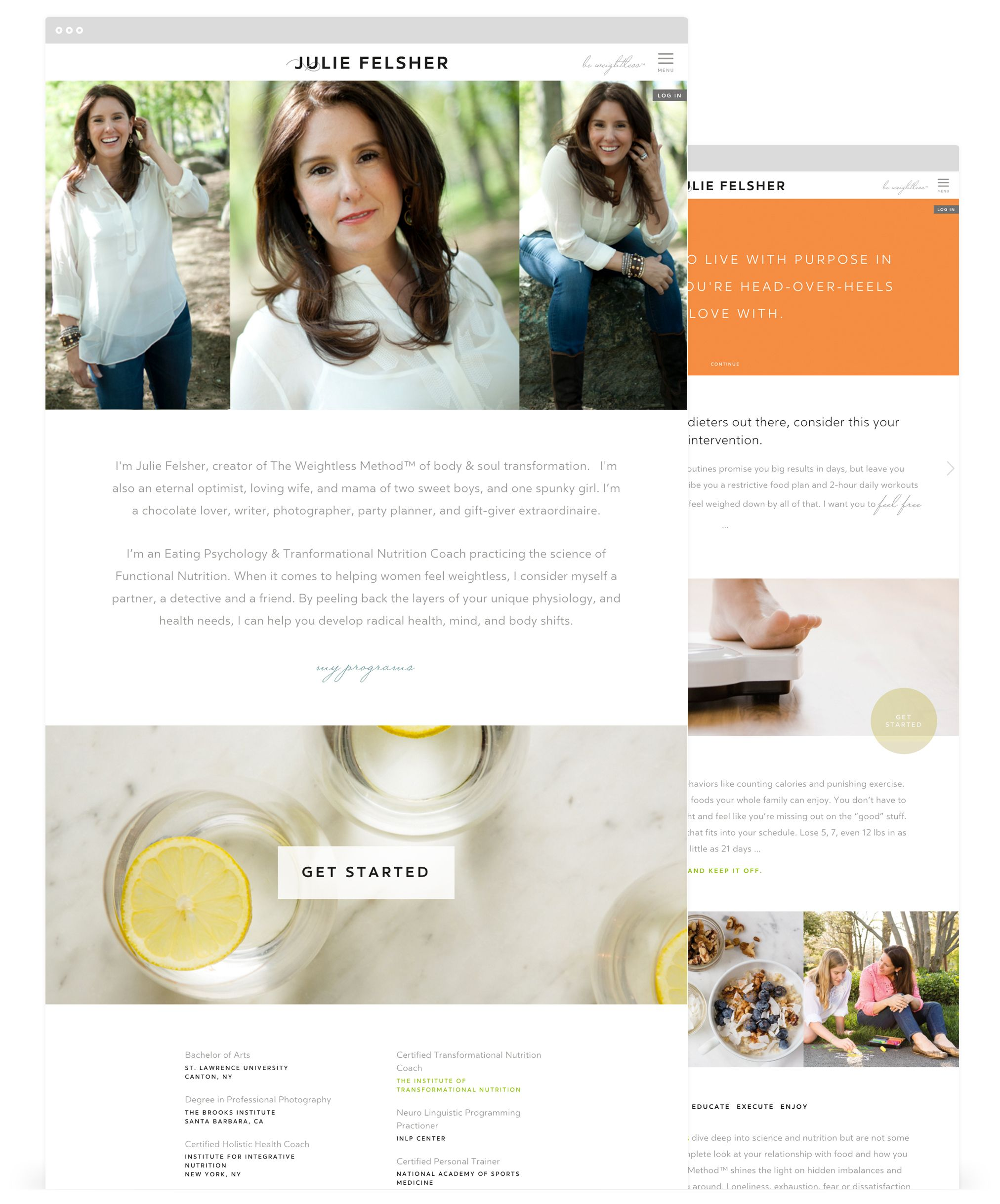 Responsive Web Design By Second West For Julie Felsher Things To Come Responsive Web Design Gift Giver