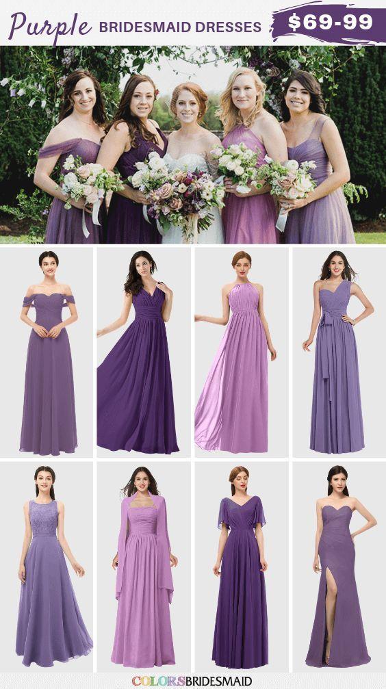 Purple Bridesmaid Dresses Purple Bridesmaid Dresses Brides Maid Dresses Purple Bridesmaid
