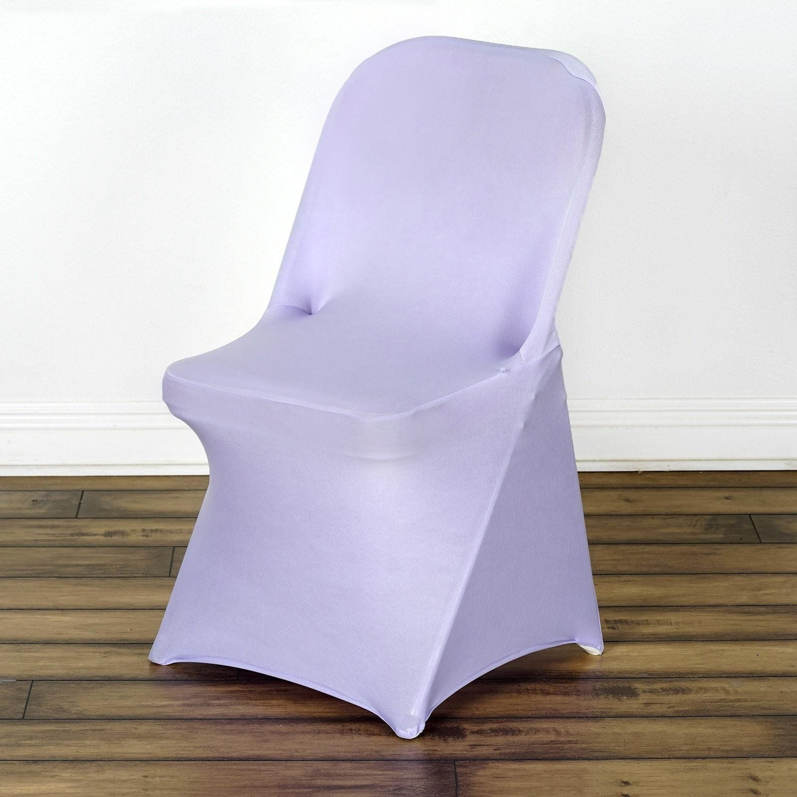 Fantastic Lavender Spandex Stretch Folding Chair Cover Products Gmtry Best Dining Table And Chair Ideas Images Gmtryco