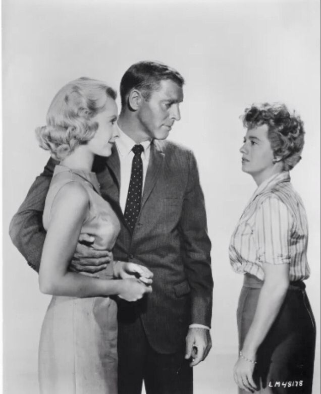 Burt Lancaster Shelley Winters In The Young Savages Shelley