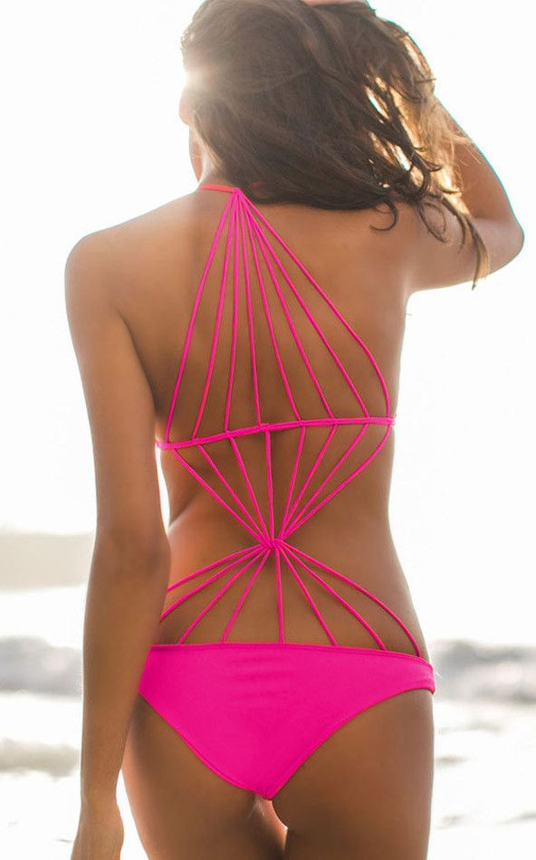 Pop Gal Strappy Stretch Monokini