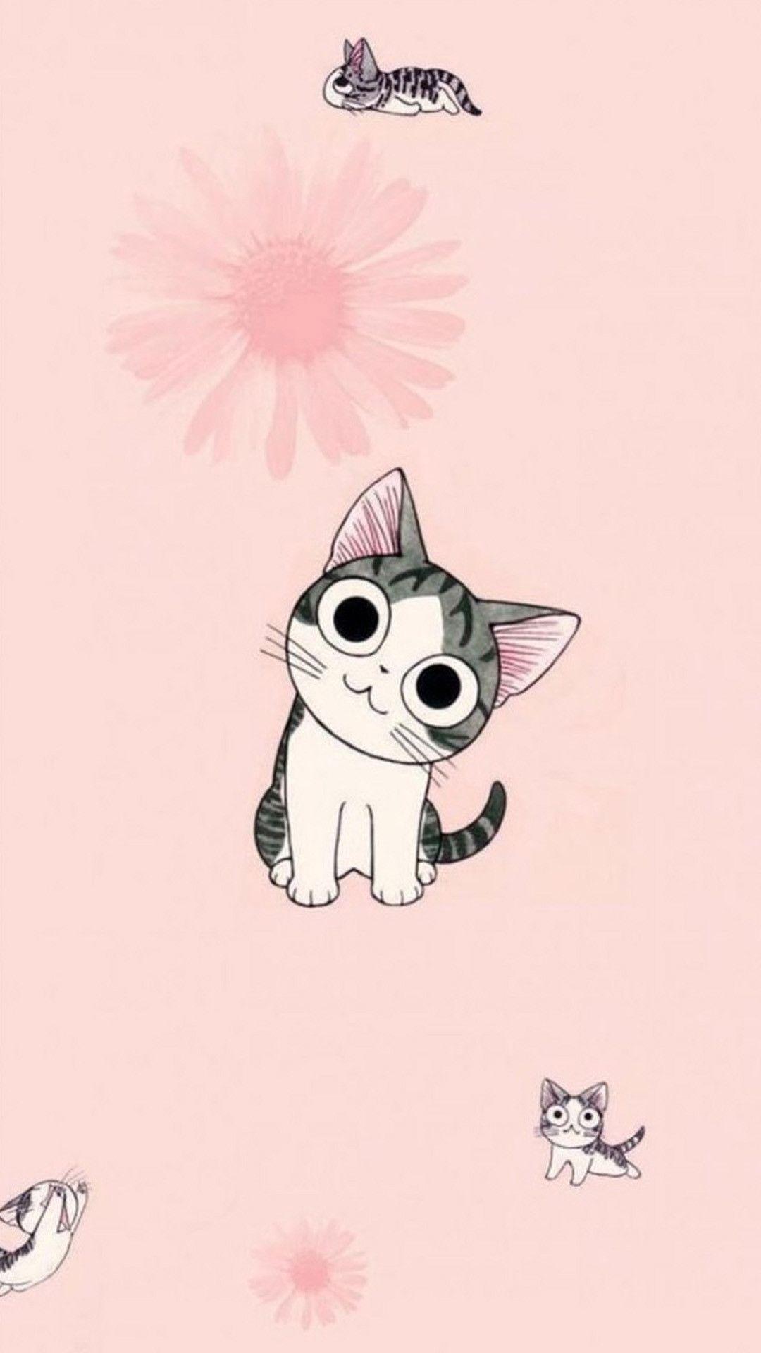 Cute Samsung Background Picture In 2020 Cute Cat Wallpaper Cute Anime Cat Cat Wallpaper