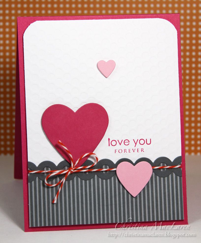 Beautiful Valentine or Anniversary Card. | Card Inspiration ...