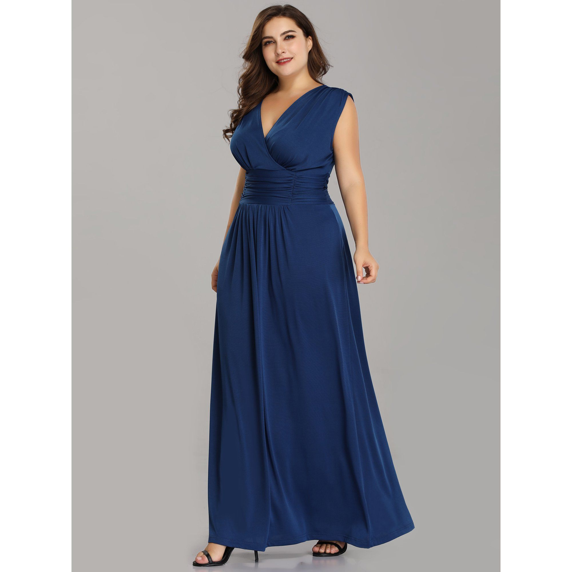 Ever Pretty Ever Pretty Women S Plus Size Long Blue Formal Evening Party Mother Of The Bride Dresses For Women 07661 Us16 Walmart Com In 2021 Cheap Formal Dresses Evening Dresses Plus Size [ 2000 x 2000 Pixel ]