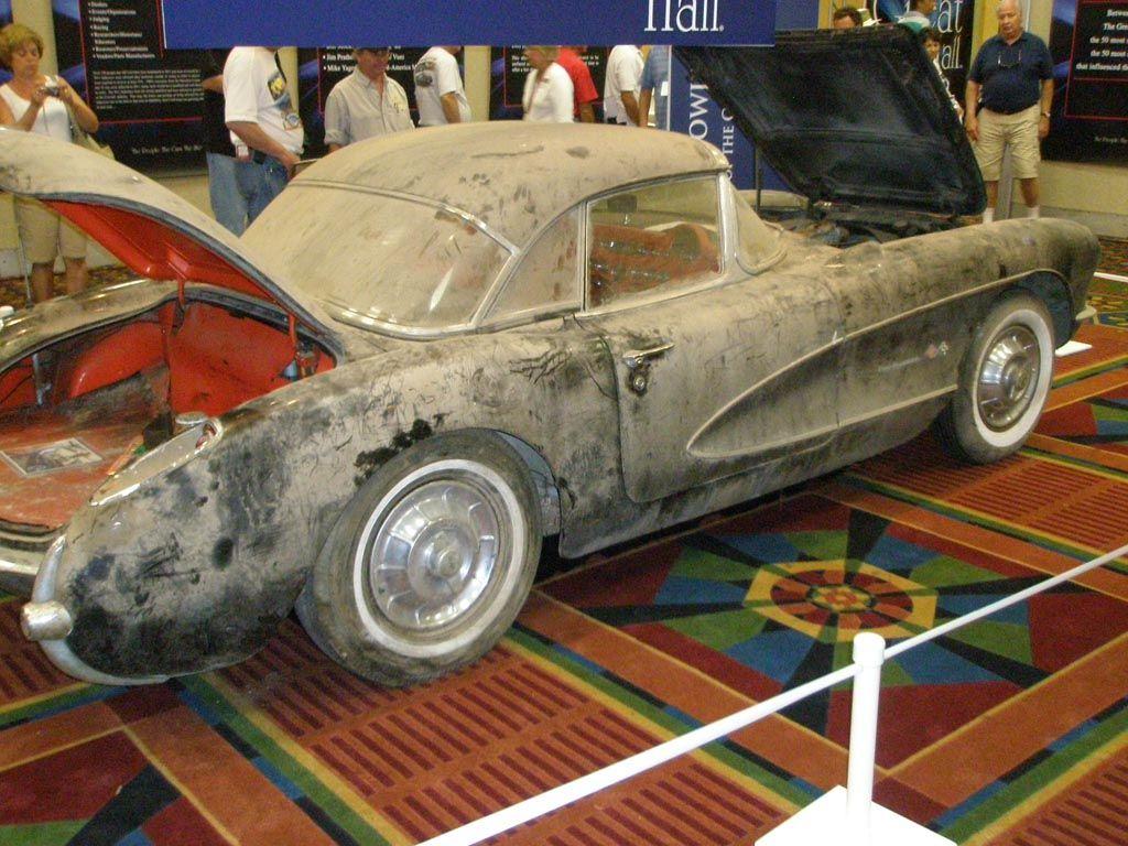 Barn Fresh 1957 Corvette Maintenance/restoration of old/vintage ...