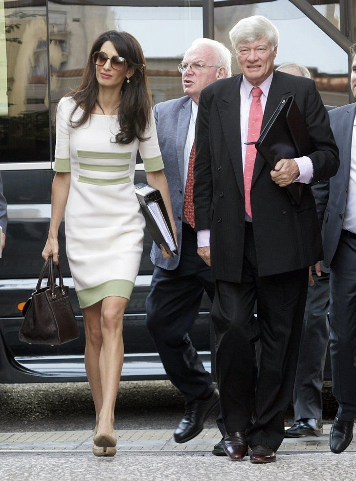 7 Impeccable Fashion Tips You Can Learn From Amal Clooney SELF 14