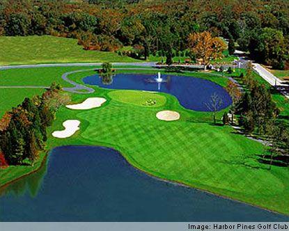 Atlantic City Golf >> Harbor Pines Golf Club Harbor Pines Golf Course Atlantic