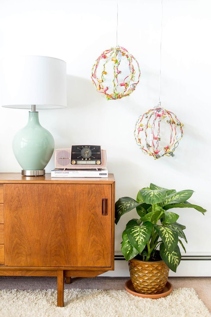 Diy portable industrial color pop chandelier dreamgreendiy
