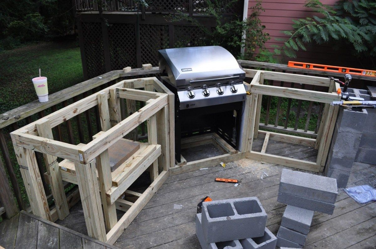 Build an outdoor kitchen - 20 Ideas About Outdoor Kitchen Plans