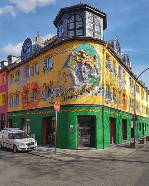 Kriescher Pub Cologne Kneipe Gaststatte Koln Kolsch Front Reisen Ausflug Dichter Und Denker