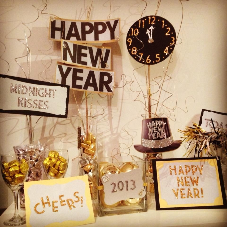 New Year S Eve Decorations Nye Thank You Pinterest For The Inspiration New Year S Eve Celebrations New Years Eve Decorations New Years Eve Weddings