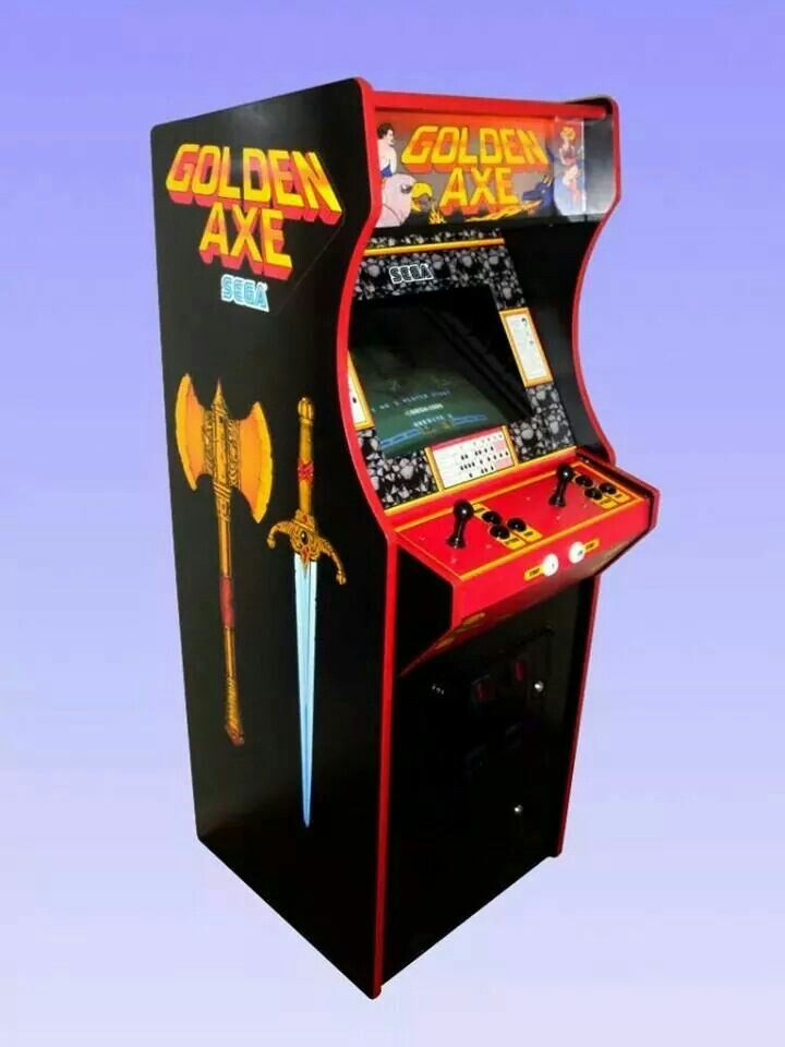 borne arcade golden axe