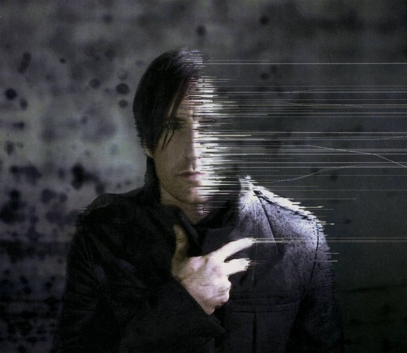 Trent Reznor Rob Sheridan Glitch Photography Nin Nine Inch