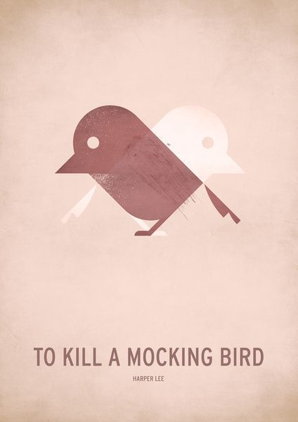 To Kill A Mocking Bird Art Print By Christian Jackson To Kill A Mockingbird Unframed Wall Art Bird Art Print
